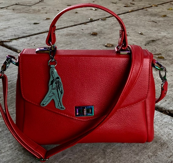 Top Handle Structured Bag, YOUR CHOICE of leathers -  Satchel Handbag - Laurel Dasso