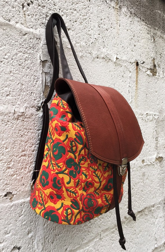 Leather Backpack in Choice of leathers - Laurel Dasso