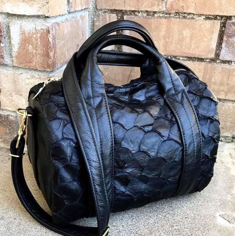 956c513a61 Leather Duffel or Exotic Leather Duffel Bag leather or