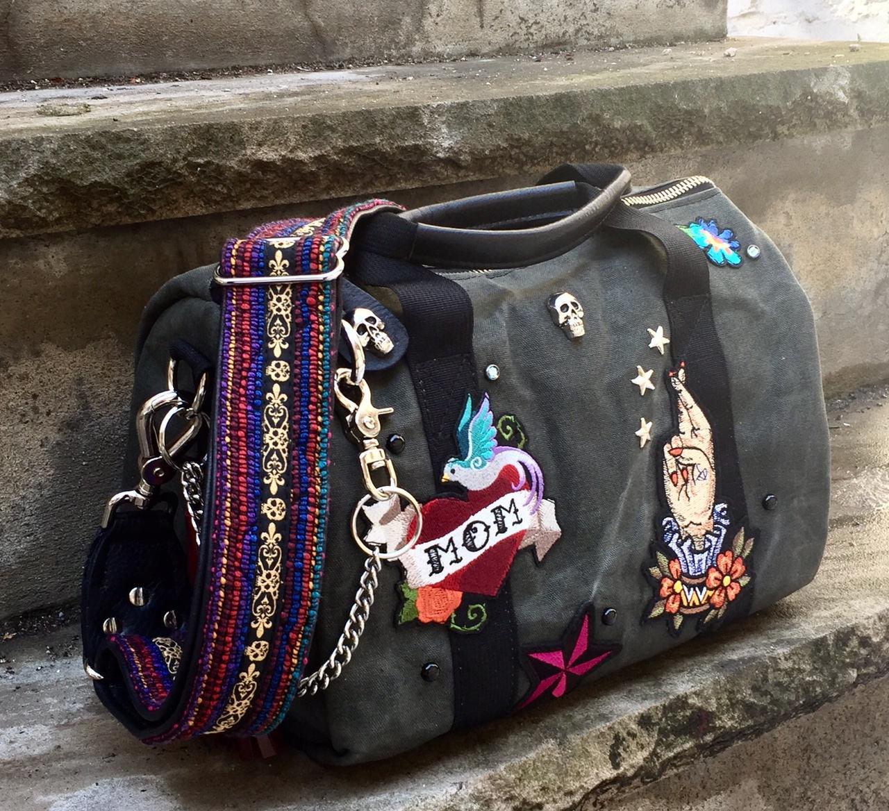 0aa5d99c5a Custom Duffel Favorite Things duffel bag Waxed Canvas Duffel Bag ...