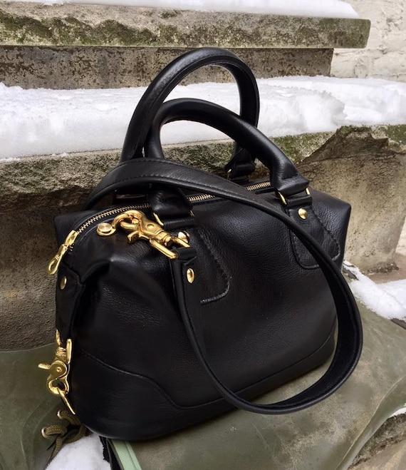 Leather zippered boxed Satchel - CHOOSE your LEATHER - Satchel Handbag - Laurel Dasso