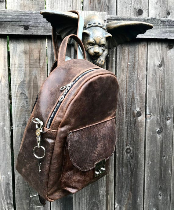 Large Leather Backpack, Leather Back Pack, Leather Book Bag - Your choice of leather - SO luxurious - Laurel Dasso