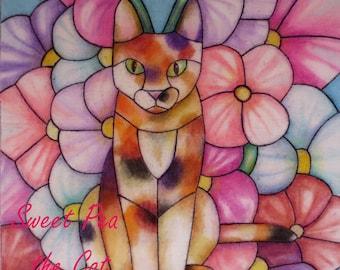 Sweet Pea the Cat