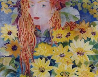 Sunflower Maiden