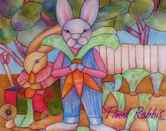 Timid Rabbit