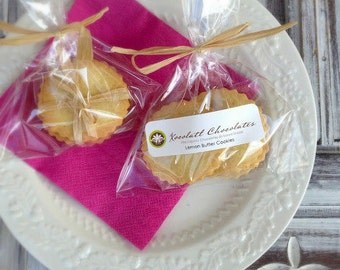 Natural & Organic Lemon Butter Cookies (1 dozen)