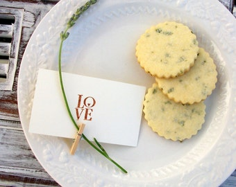 All Natural & Organic Lavender Cookies (1 Dozen)
