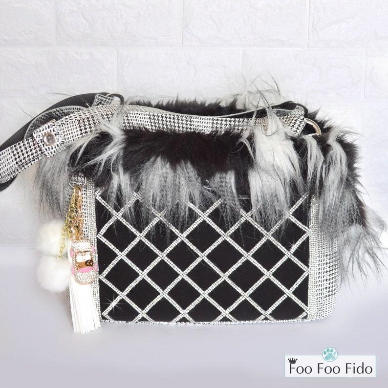 8280d6f73ef0 Luxury Dog Carrier Purse Designer Dog Bag Fancy Pet | Etsy