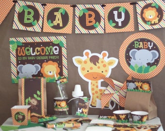 100+ Best Baby Shower Ideas Jungle Theme