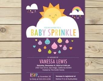 Baby Sprinkle Invitation Printable - Girl Baby Sprinkle Invite - Baby Sprinkle Invite - Baby sprinkle invite brunch - Sprinkle Baby Shower