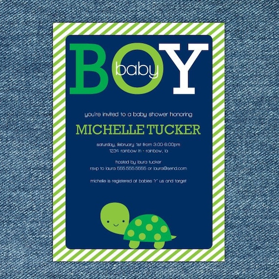 Turtle baby shower invitation printable boy baby shower etsy image 0 filmwisefo