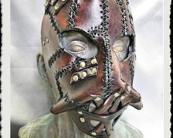 Leather mask - Wild -