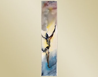 "Giclee of Original Watercolor Painting ""Hona Babston 1"" by artist John Carollo"