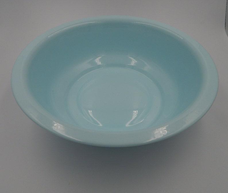 Pastell blau Emaille Becken Runde Wash Bowl 12 Zoll