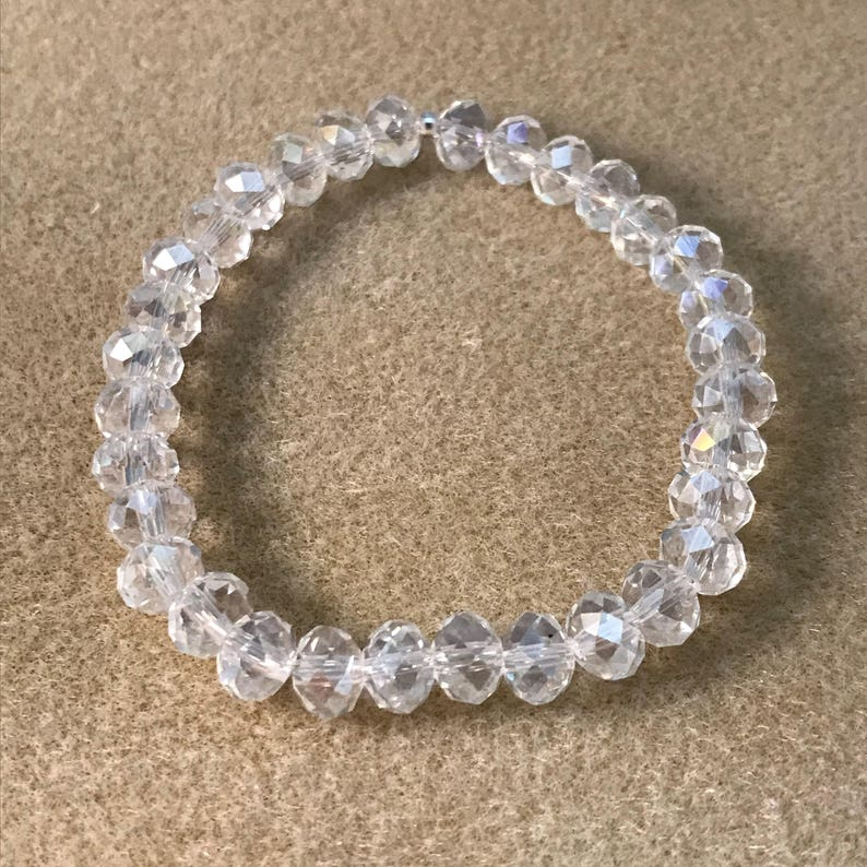 a61abff62 Crystal Diamond Clear Aurora Borealis Iridescent | Etsy