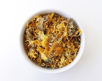 Calendula Flowers - Dried Flowers, Herb, Herbal Tea,