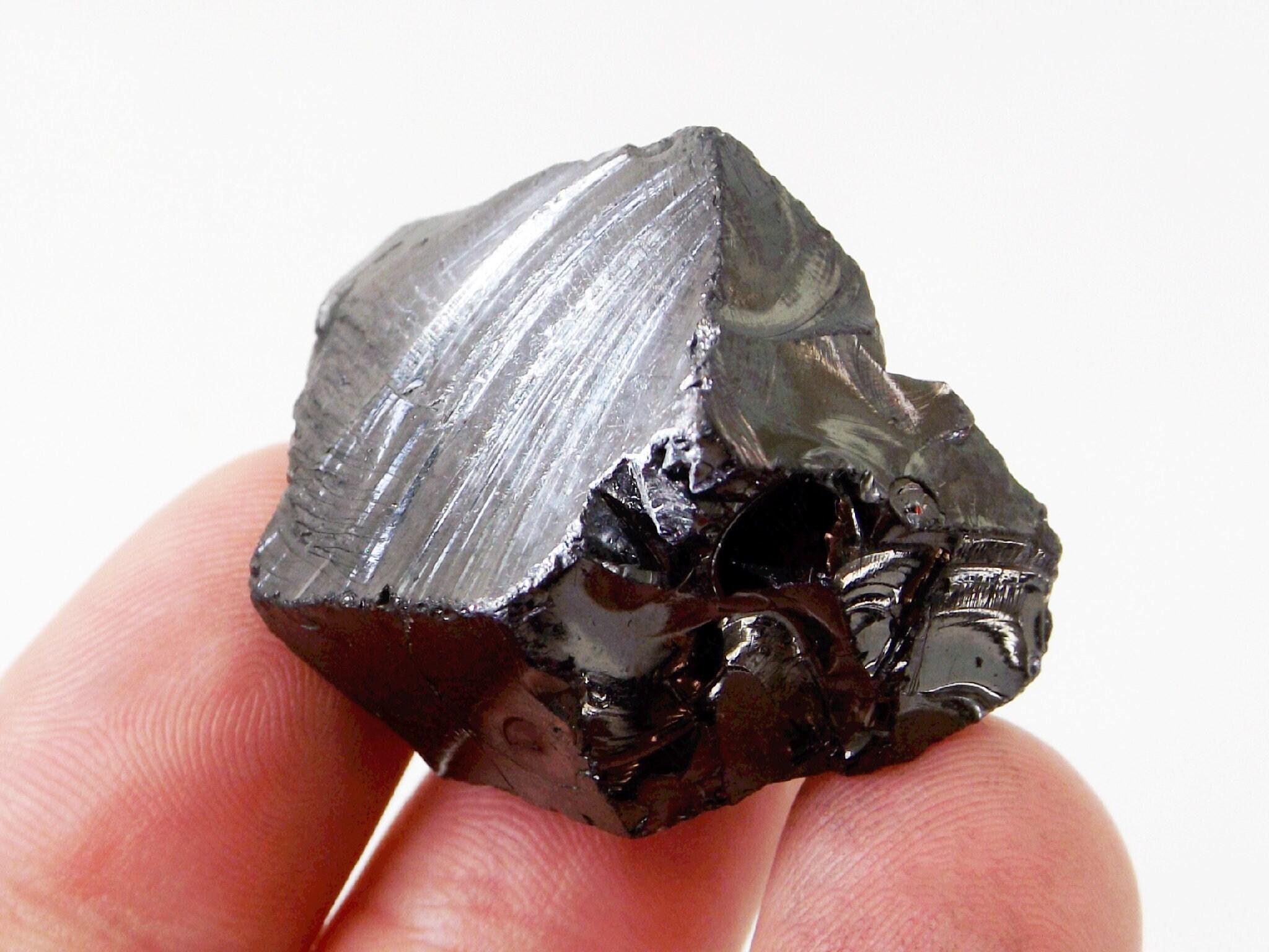 Elite Shungite Stone - 13g, Noble Shungite, Silver Shungite, Raw Shungite,  Shungite for Jewelry