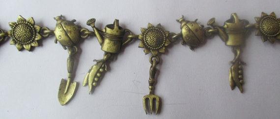 JJ Jonette Gardeners Bracelet -Unique gift- collectible- made in USA