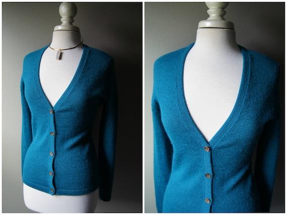 Small Alpaca Soft Peruvian Alpaca Button Sweater Down Vintage Aqua Sweater Cardigan ALPACA Sweater Wool Sweater Warm Teal Blue Cardigan Peru Yq8Ew