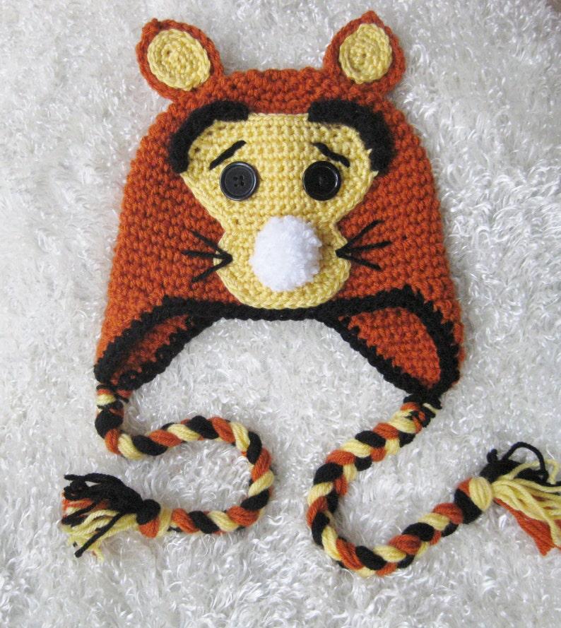 30c15cb8b67 Tigger Hat Halloween Costume Disney Character Winnie the