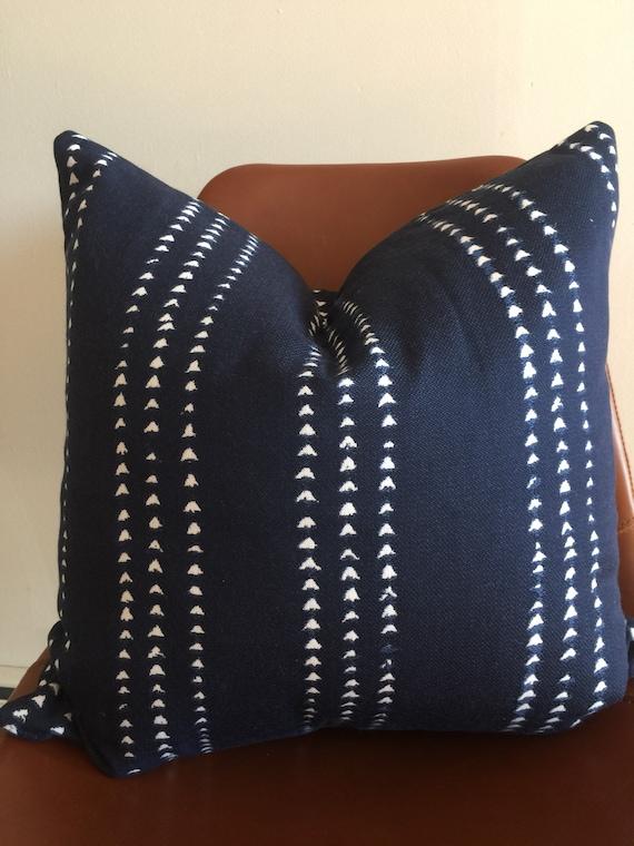 Pindler Shibori Ethnic Vertical Arrow Print Outdoor Pillow Etsy