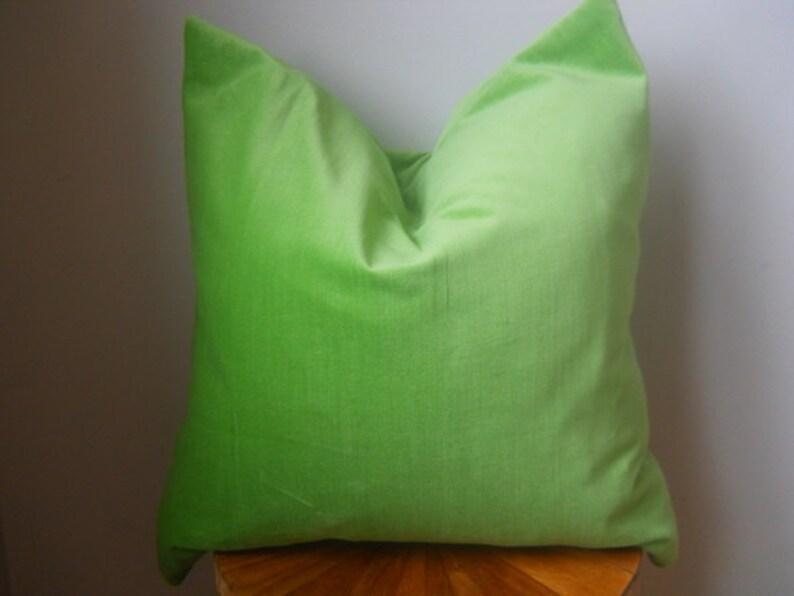 Designer Fabric large floral pink fuschia mint green emerald cream pillow  cover euro sham 16 18 20 22 24 26 cushion lumbar nursery