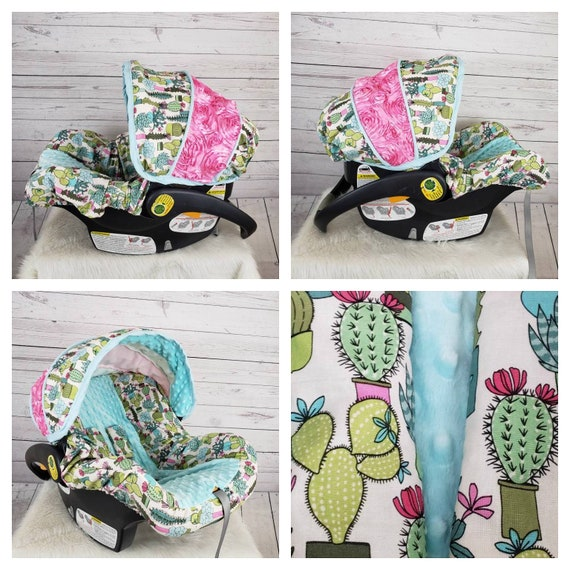 Excellent Cactus Cover Southwestern Seat Cover Baby Car Seat Cover Infant Seat Cover Custom Order Comes With Free Strap Covers Gmtry Best Dining Table And Chair Ideas Images Gmtryco