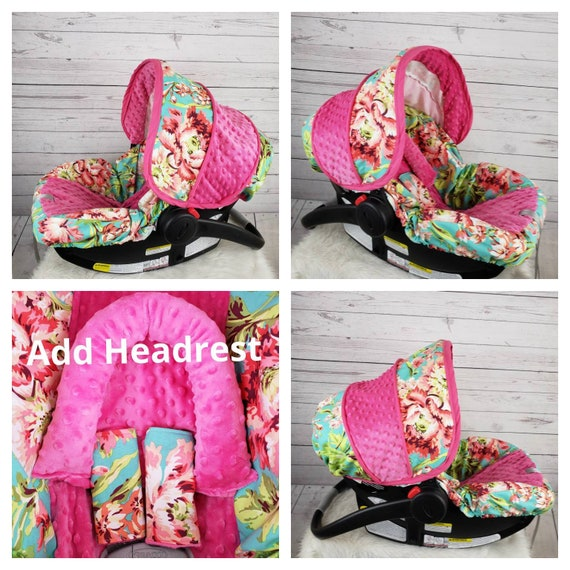 Floral Car Seat Cover Baby Slipcover