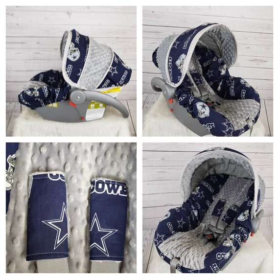 Stupendous Baby Boy Dallas Cowboys Baby Car Seat Cover Alphanode Cool Chair Designs And Ideas Alphanodeonline