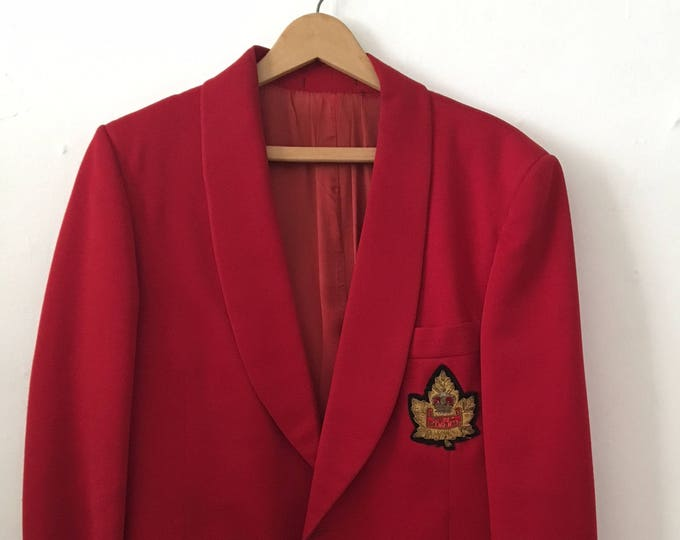 Big Band 1960s red tux jacket Guy Lombardo Royal Canadians Don Cooper