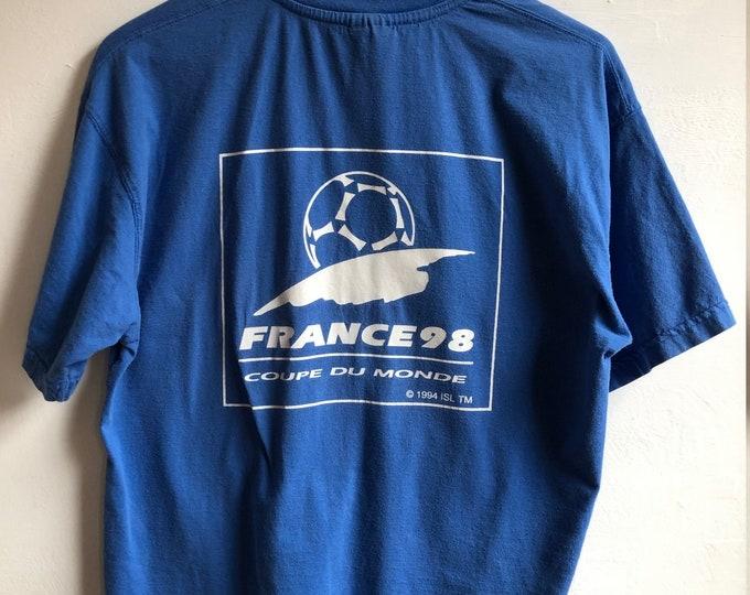 1998 World Cup T-shirt medium