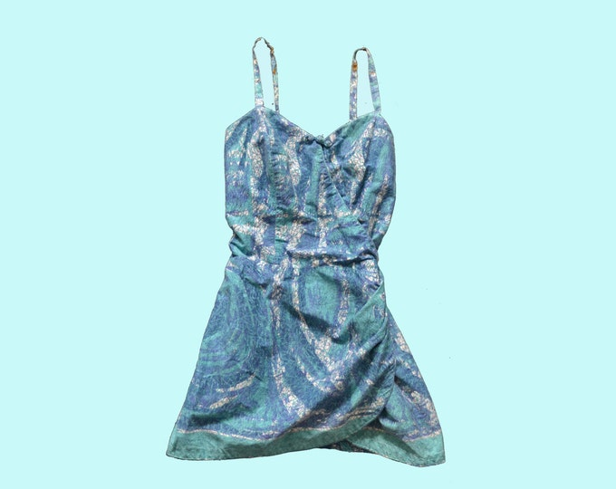 1950s Hawaiian Swimsuit size S