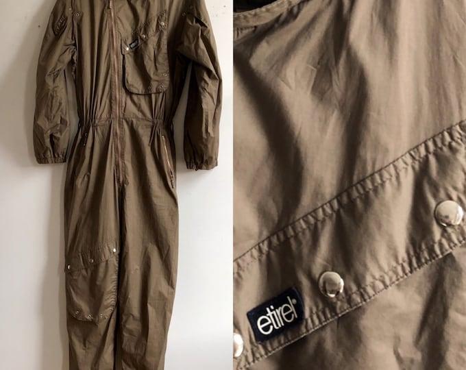 80s French new wave jumpsuit unisex sz 52