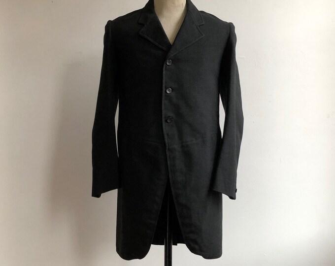 Men's Edwardian Morning Coat c.1900 sz 38