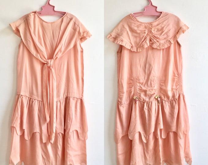 1920s Child's Flapper Dress, size XS