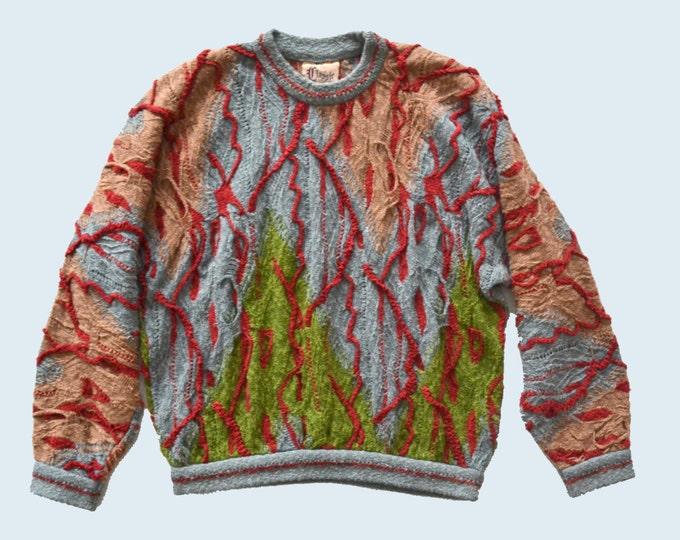 1980s Coogi Cotton/Linen Sweater size M