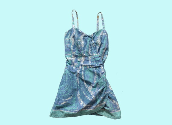 1950s Hawaiian Swimsuit size S