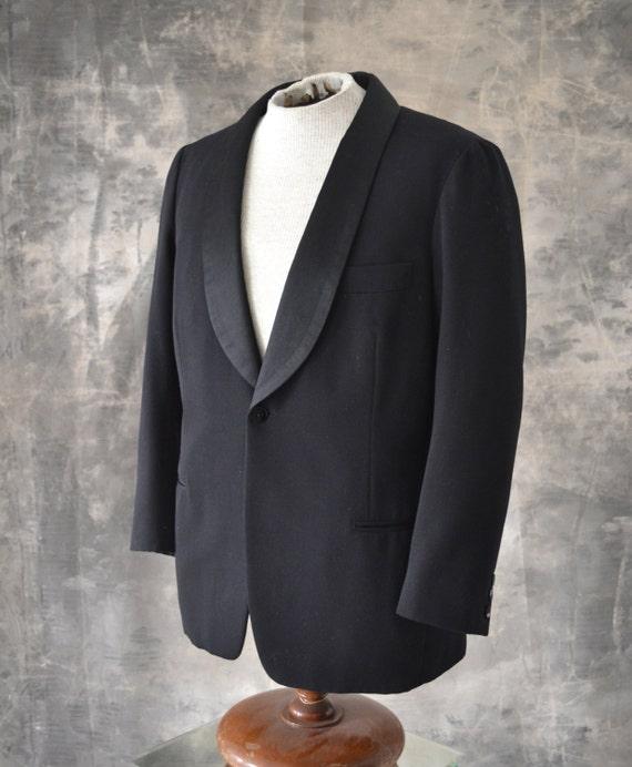 1970s French Tuxedo Jacket