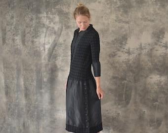 1920s Black Dress size M/L