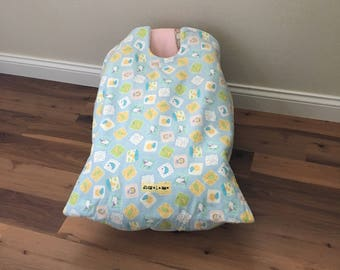 Car Seat Blanket Cover Infant Carrier Baby Night And Day Snug L Bee Winter Travel Accessory