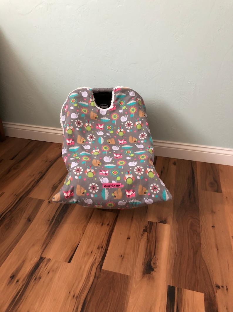 Infant Car Seat Blanket Girls woodland Snug L Bee infant image 0