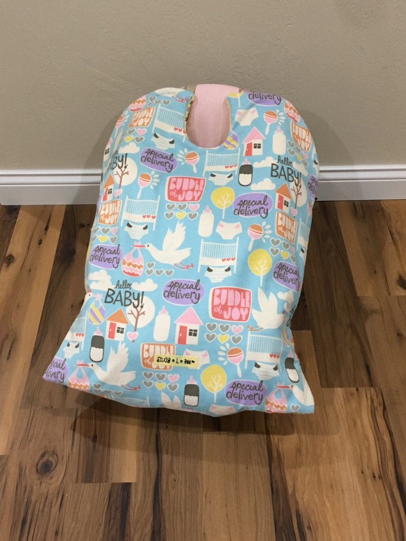 Infant Car Seat Blanket car seat cover baby carrier blanket image 0