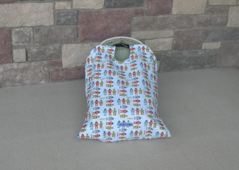 car seat blanket car seat cover Robot Snug L Bee infant image 0