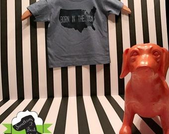 Born in the USA Kids Shirt