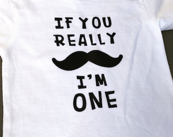 If You Really Mustache I Am One T-shirt