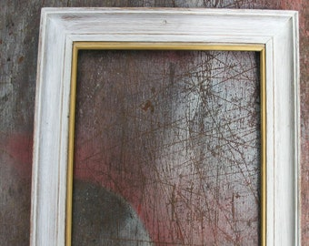 Vintage Oak Frame with swept moulding - Wood frame with Limed Finish