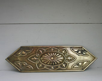 Brass Door Plate/ Finger Plate - Push Plate