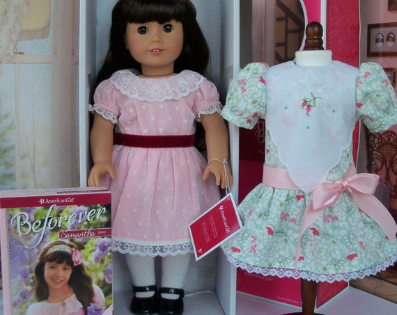 American Girl Historical Doll Samantha Parkington  /  Like New in Original Box Plus EXTRAS