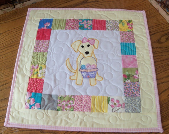 """SALE!! Farmcookies Embroidered Keepsake  Heirloom Quilt for 18"""" American Girl Doll / Like American Girl Doll Clothes & Bedding"""
