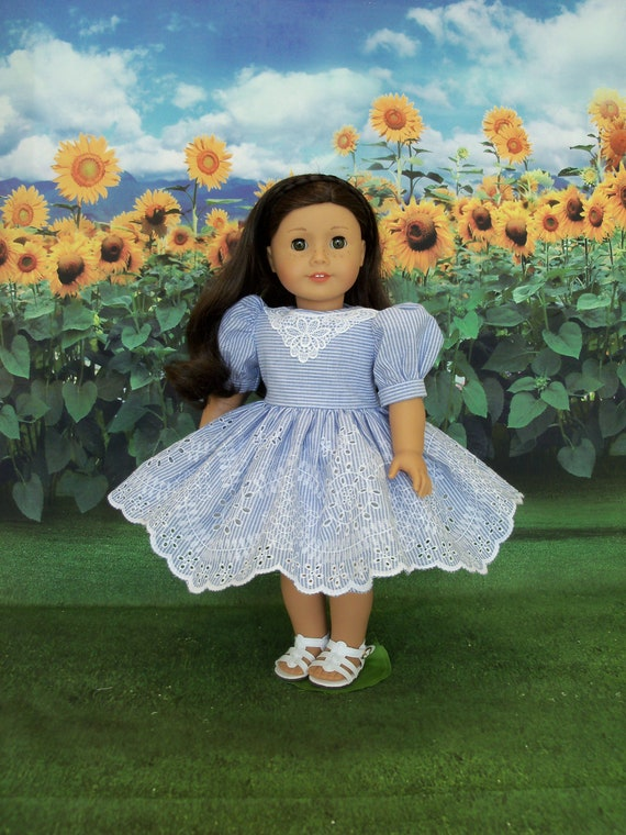 18 Inch DOLL CLOTHES /Special Occasion Dress for American Girl by Farmcookies  / Fits American Girl and other 18 Inch Doll